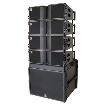 KARA & SB18 Dual 8 inch Two Way Bi-amped Line Array System