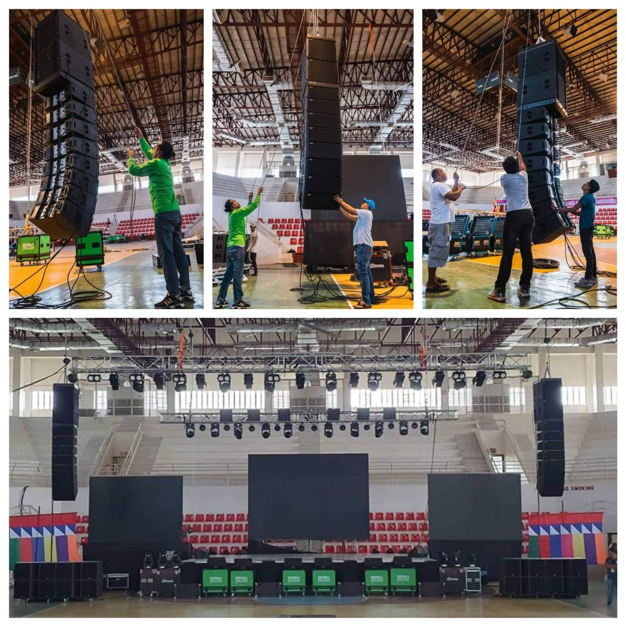 The Development and Application of Line Array Speaker System